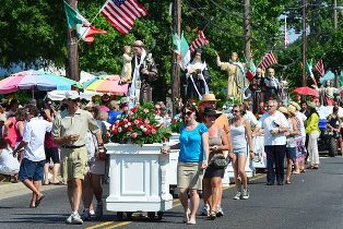 We The Italians | Our Lady of Mount Carmel Festival opens in