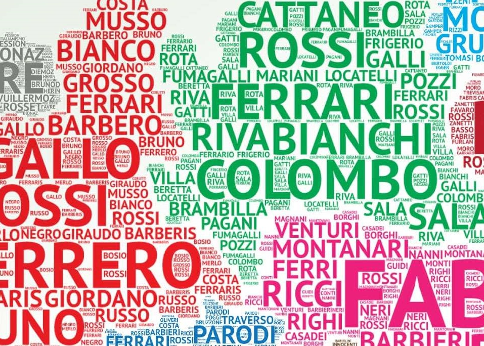 Italian Last Names And Meanings: Italy's Most Common Last Names: Is Yours