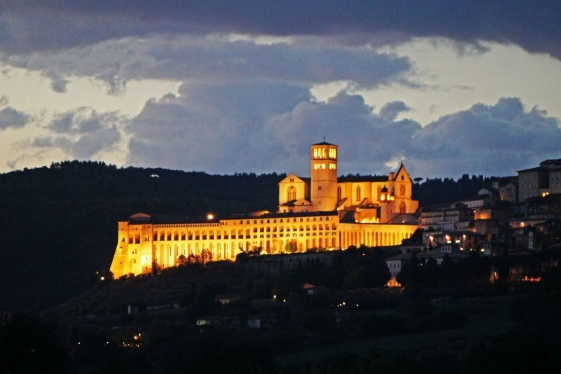 italys assisi northwestern umbria
