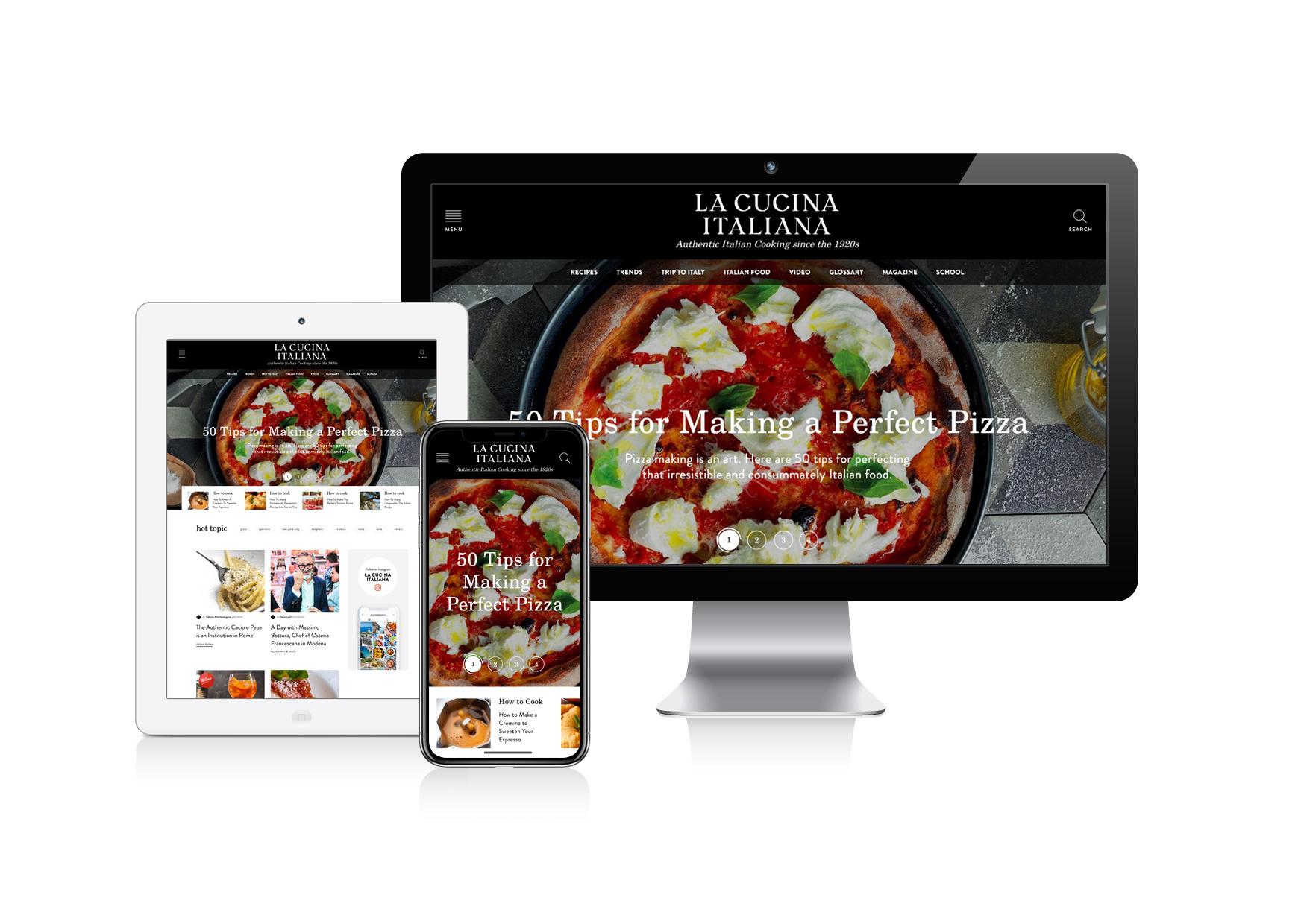 We The Italians | IT and US: La Cucina Italiana comes to the ...